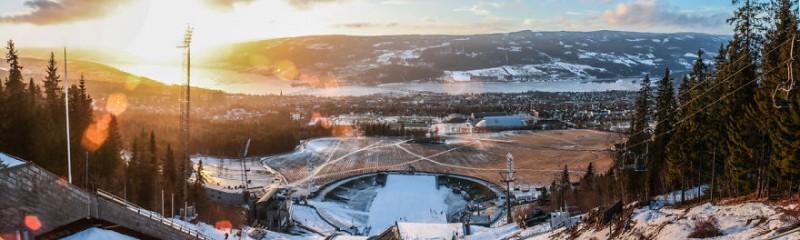 Estación-de-saltos-de-Sky-Lillehammer-Noeruega