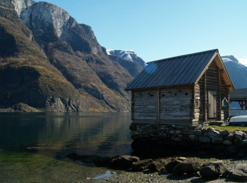 Fisherman-Hut-Undredal-Noeruega