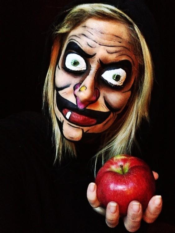 Maquillajes,terrorifico,bruja,malvada,blancanieves,halloween