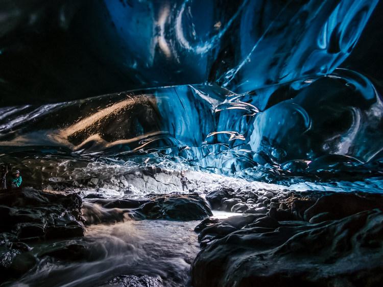 Cueva Glacial Vatnajokull Islandia