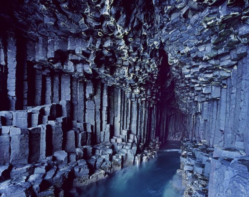 Cuevas Fingals Escocia