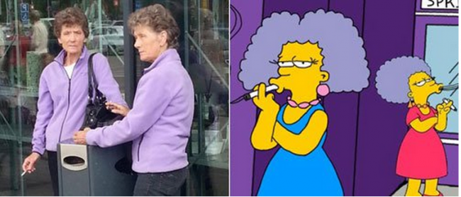 los-simpsons-patty-y-selma-bouvier