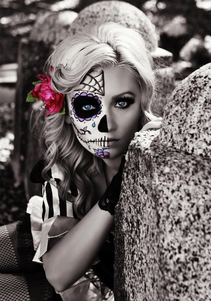 maquillaje-para-halloween-mitad