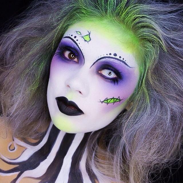 Risultati immagini per maquillaje halloween