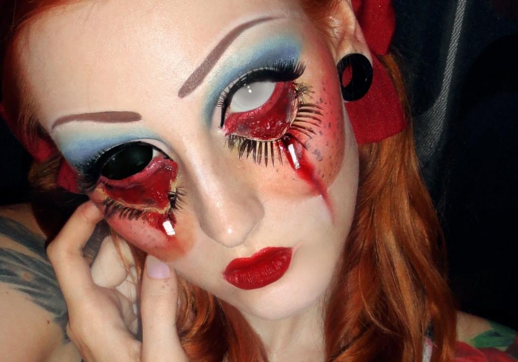 Maquillajes Eca Diabolica Para Halloween
