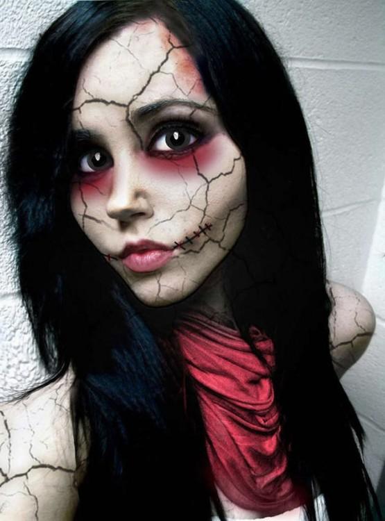 maquillajes-para-halloween-agrietada