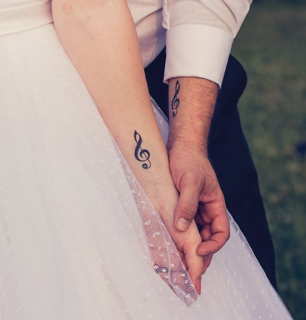 23 Tatuajes Para Parejas Enamoradas