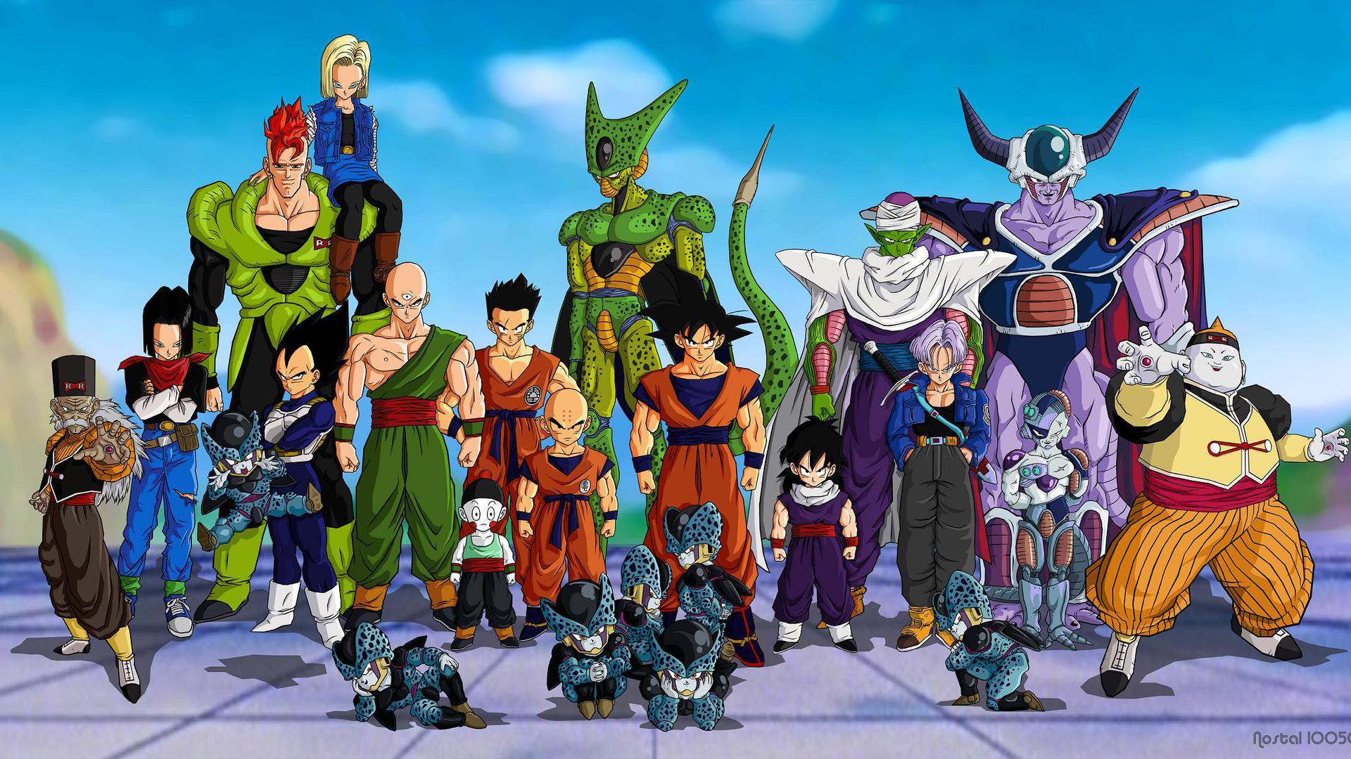 Fondos De Dragon Ball Z Wallpapers E Imágenes De Dragon