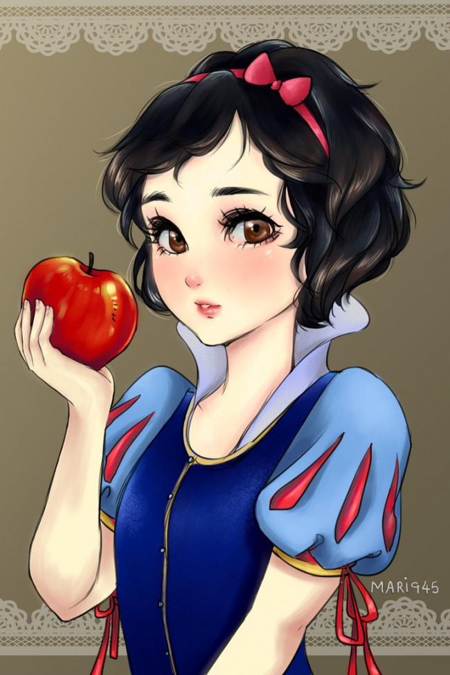 blancanieves anime