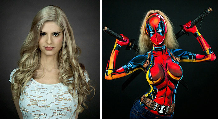 cosplay-superheroes-bodypaint-kay-pike