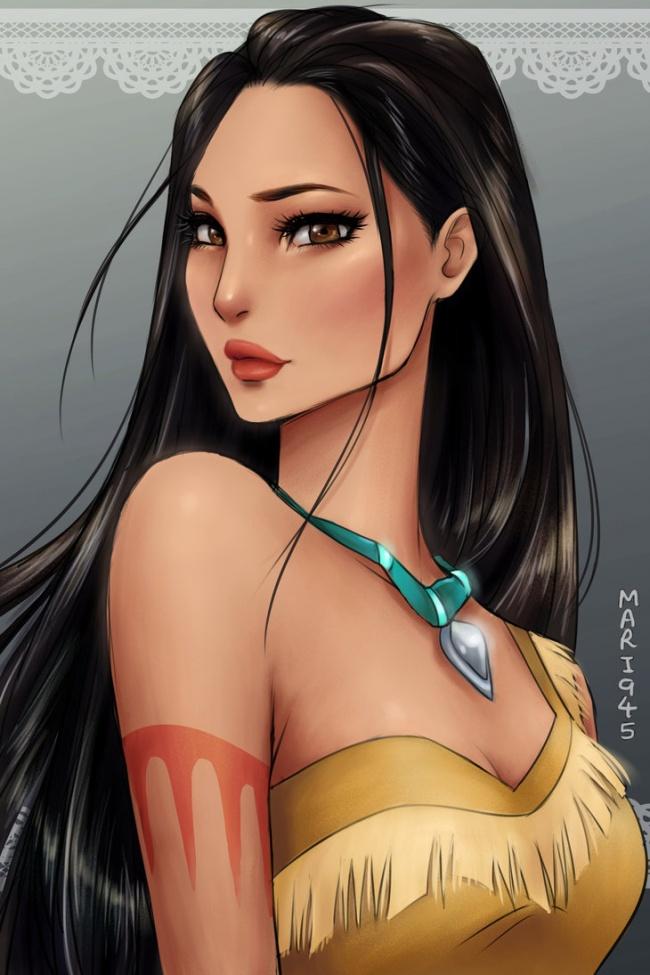 pacahontas anime