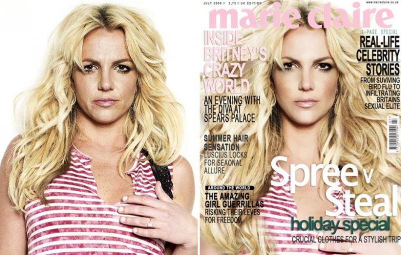 05 Britney Spears sin Photoshop